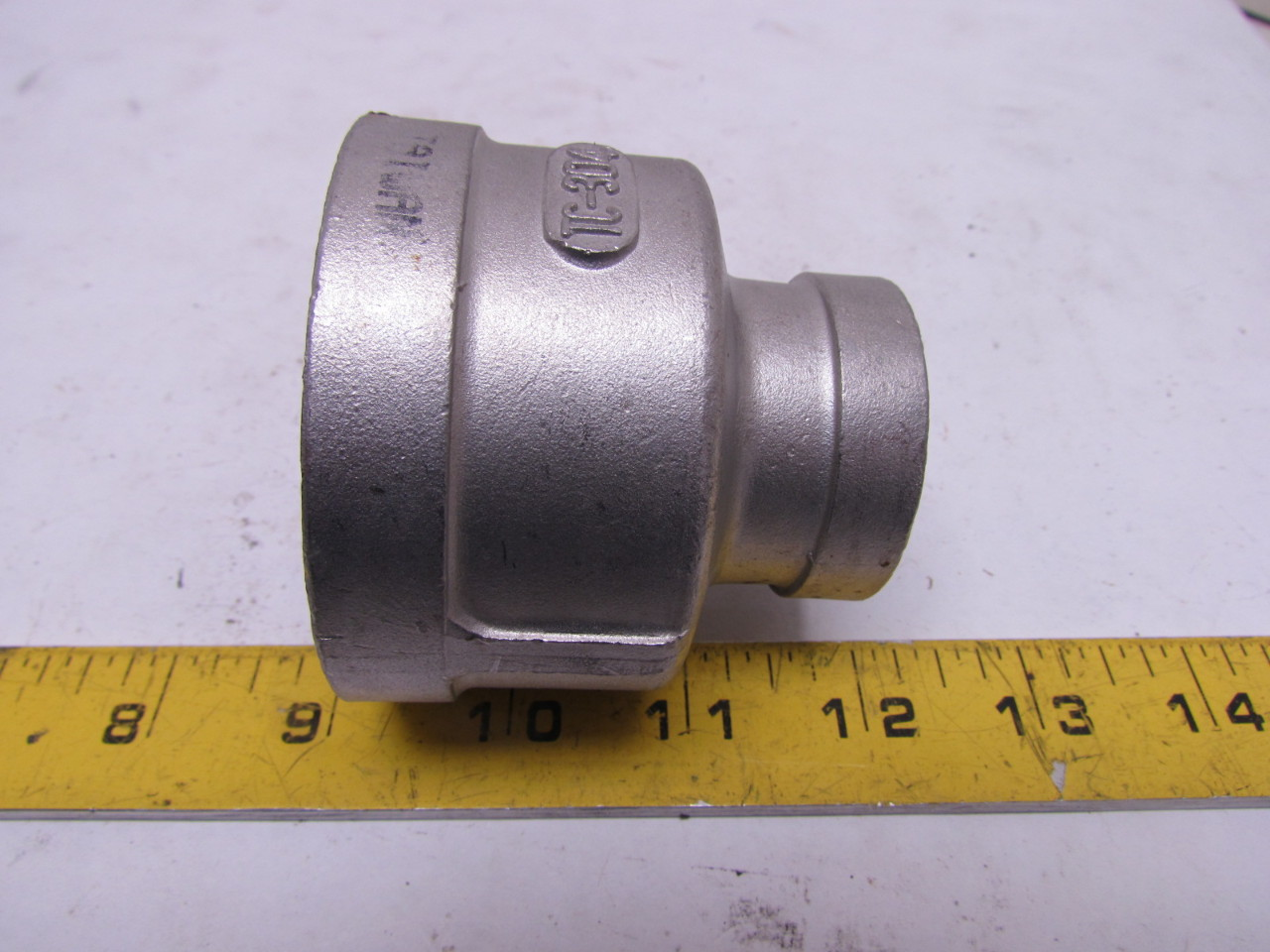 Tri clover tc quot x fnpt adapter fitting reducer