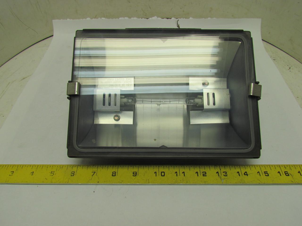 incandescent outdoor wet location light fixture 500 watt t. Black Bedroom Furniture Sets. Home Design Ideas