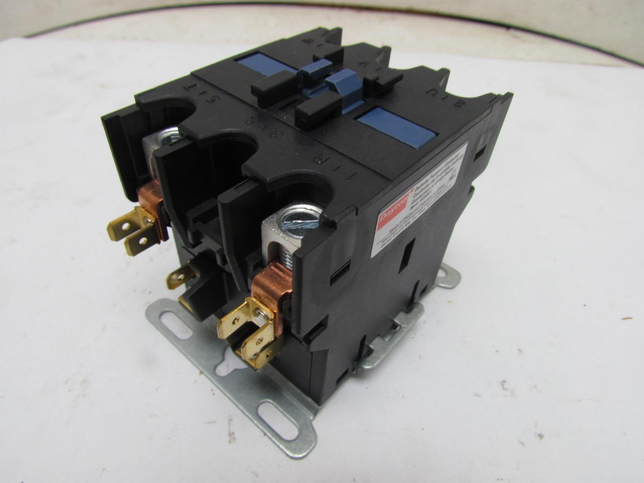 dayton 6gnx1 definite purpose motor contactor 2 pole 110. Black Bedroom Furniture Sets. Home Design Ideas