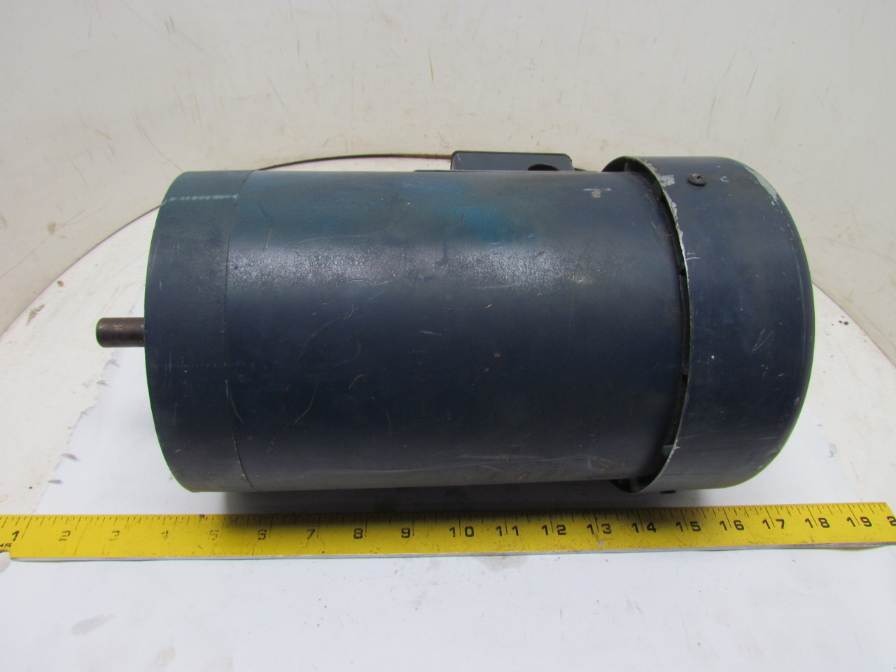 Leeson C6t11fc18e 3 Phase Electric Motor 1 5hp 1140 Rpm