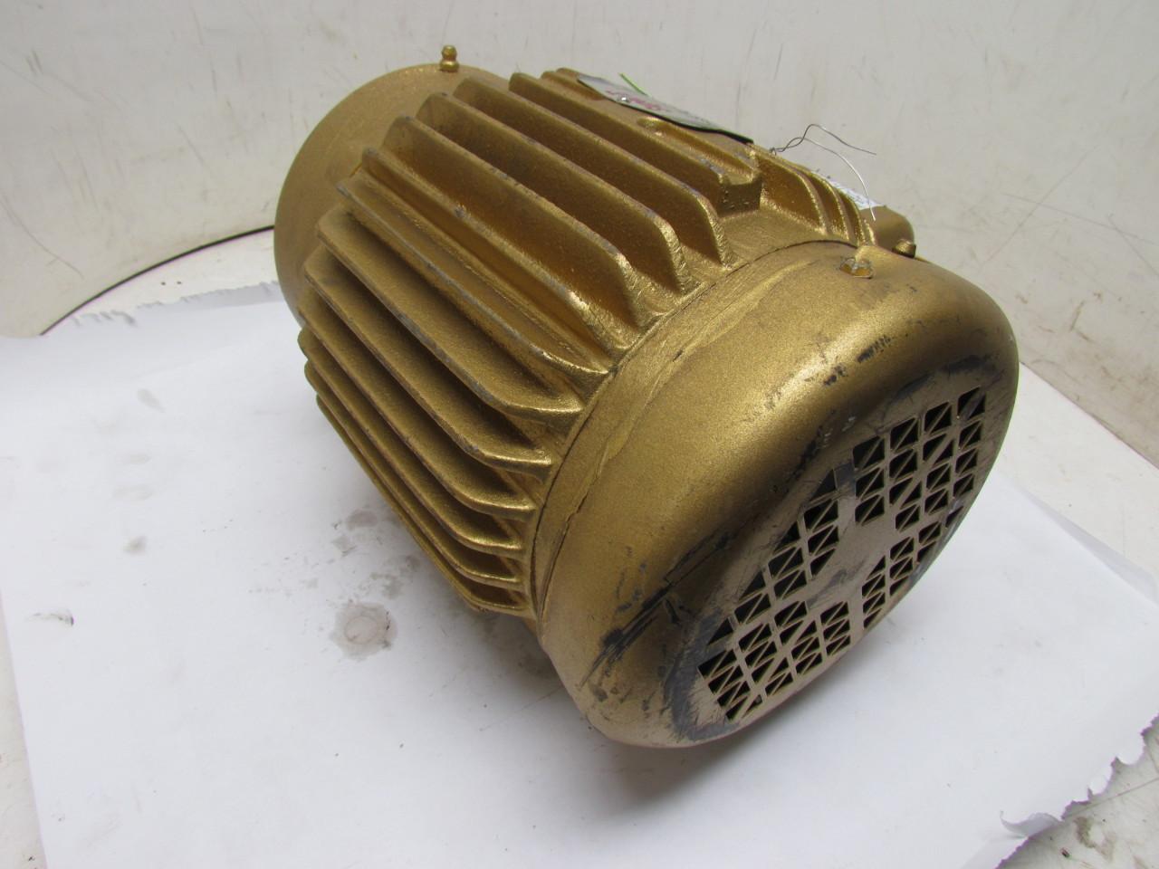 Baldor vem3581t super e 3 phase electric motor 1hp 1750 for 1hp 3 phase motor