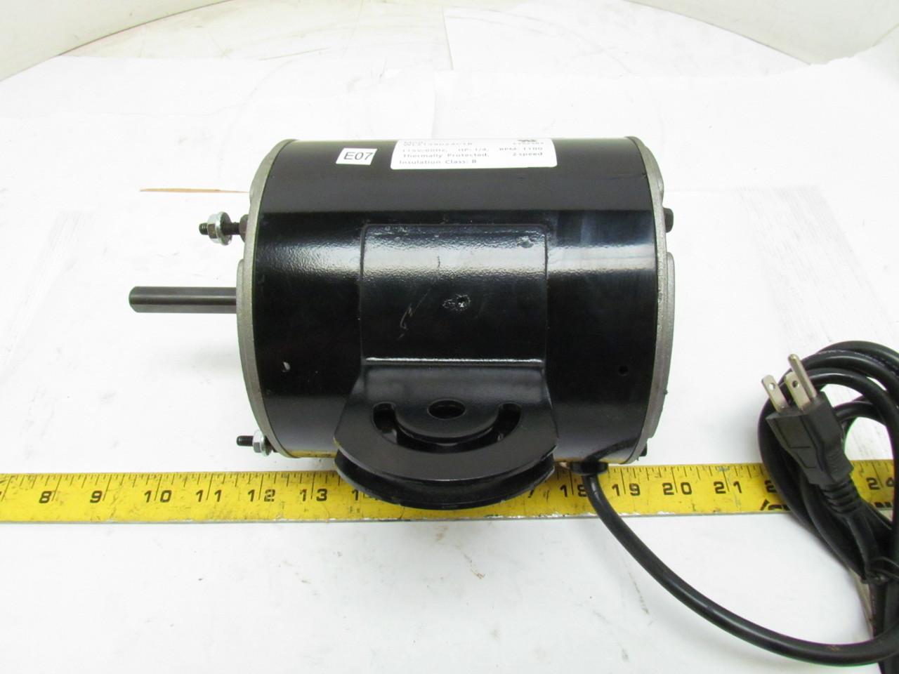 Dayton 1rwb4 1ph single phase electric fan motor 1 4hp for Dayton electric fan motors