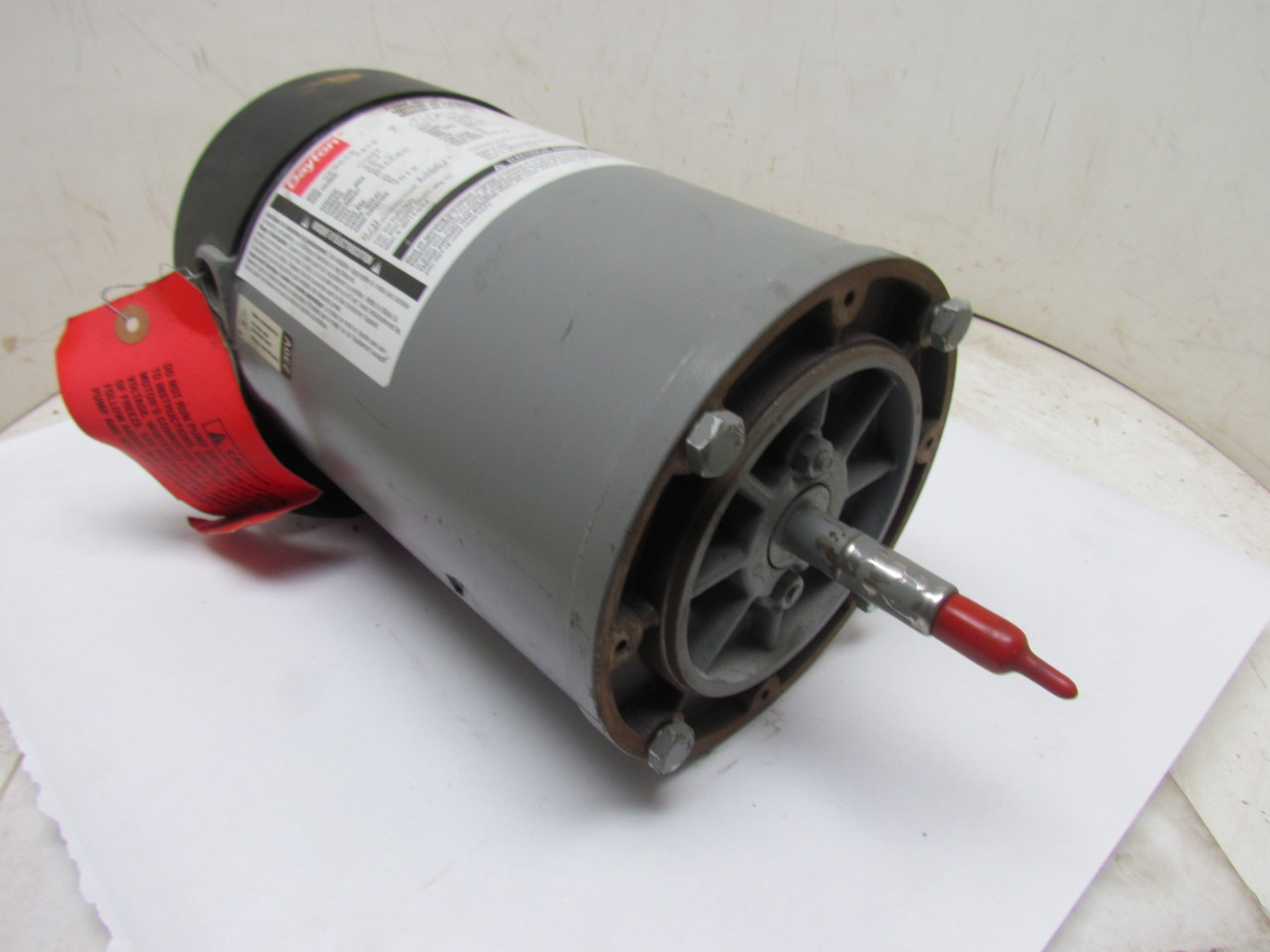 Dayton 9k865a 136677 2hp Electric Pump Motor 115 230v 1ph