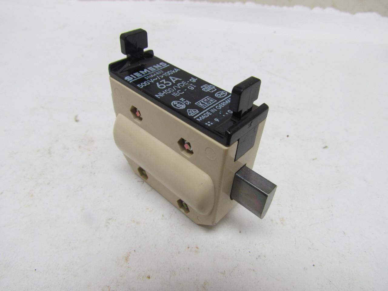 siemens 3na4822 hrc fuse 63a 500v 100ka nh00 vde gl box of siemens oven fuse  box siemens fuse box diagram