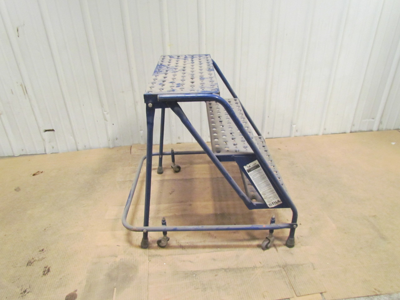 3step Steel Metal Ladder With Paint Tray Hailo K30