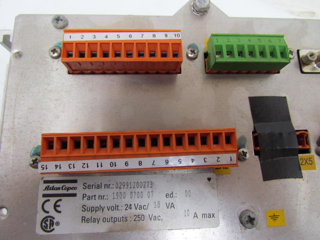 60311 atlas copco elektronikon 1900 0700 07 compressor controller 9 atlas copco elektronikon 1900 0700 07 compressor controller ebay atlas copco elektronikon wiring diagram at panicattacktreatment.co