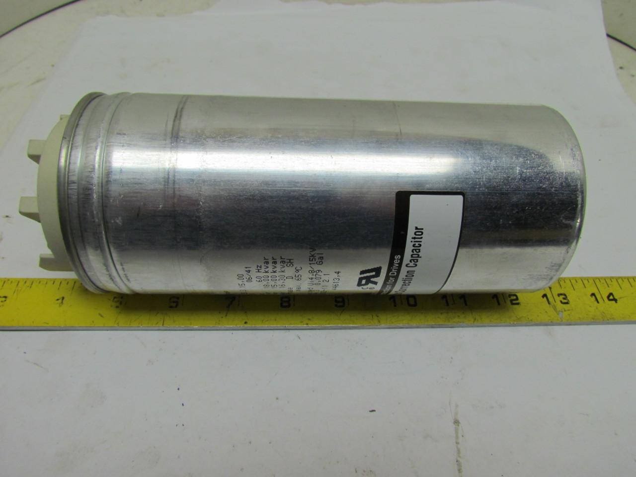 Transicoil kcap15a6b kcap power factor correction for Power factor correction capacitors for motors