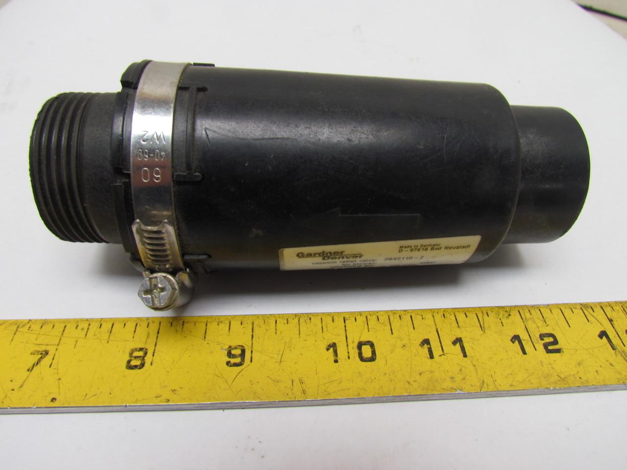 Gardner denver 2bx2110 z d 97616 vacuum relief valve for Gardner plumbing