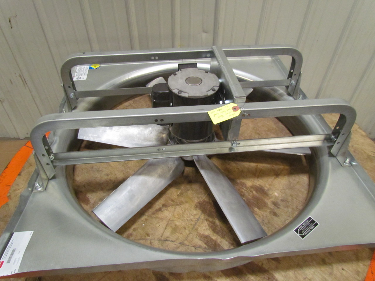 Dayton Direct Drive Fan Motor : Dayton d blade quot direct drive exhaust fan