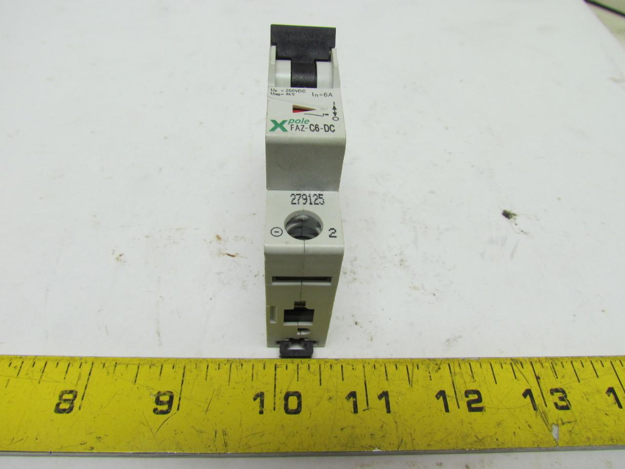 Miniature Circuit Breaker Din Rail Mount Faz Breakers