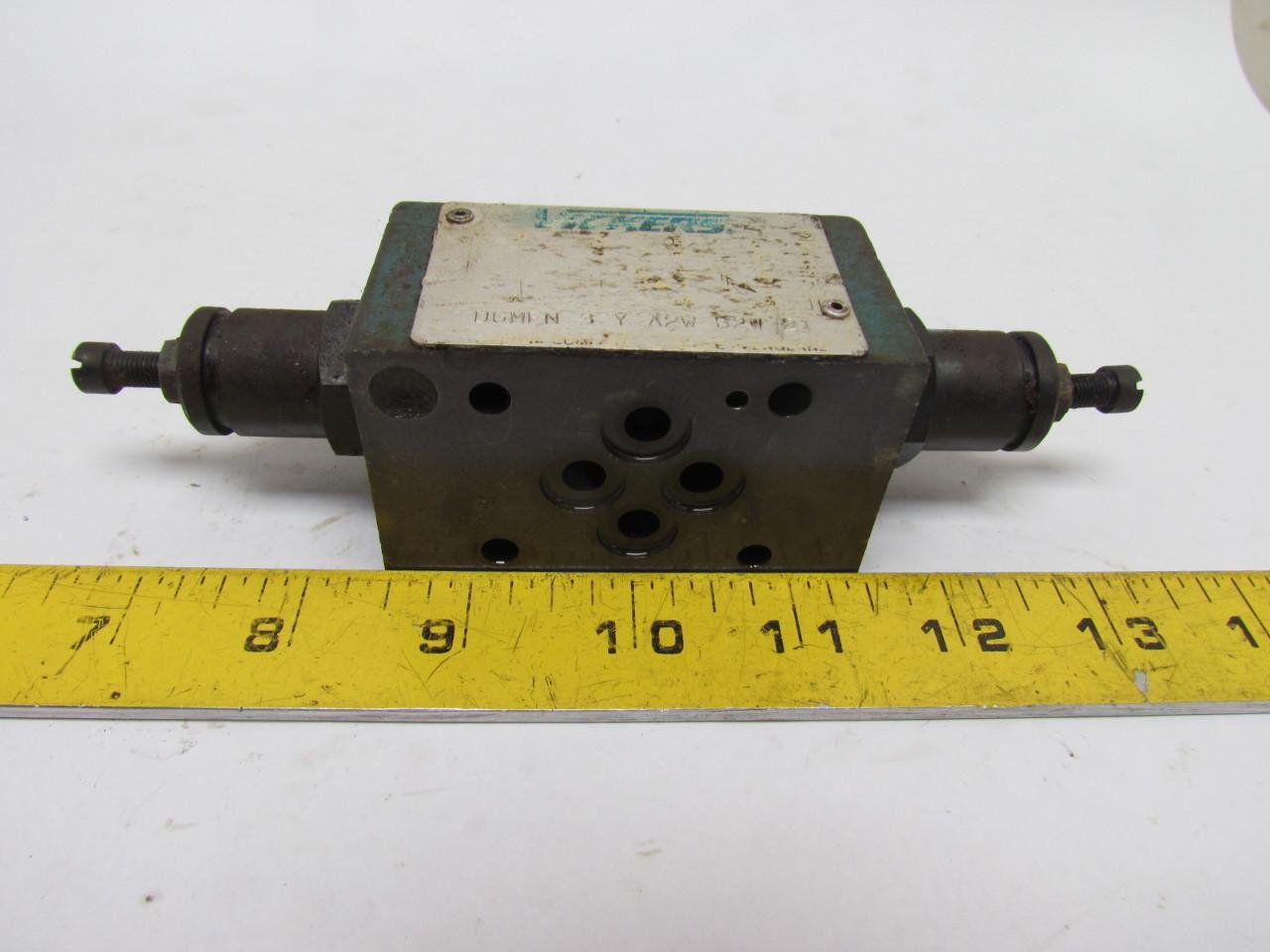 Vickers DGMFN-3-Y-A2W-B2W-21 Hydraulic Flow Control Valve