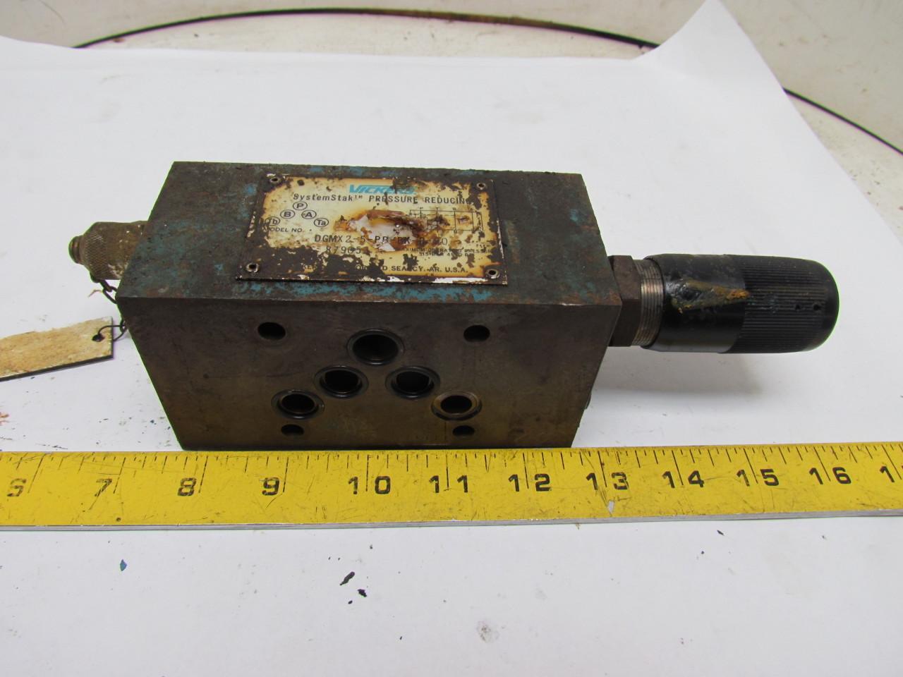 Vickers DGMX2-5-PB-BK-B-30 Hydraulic Pressure Reducing Valve Keyed