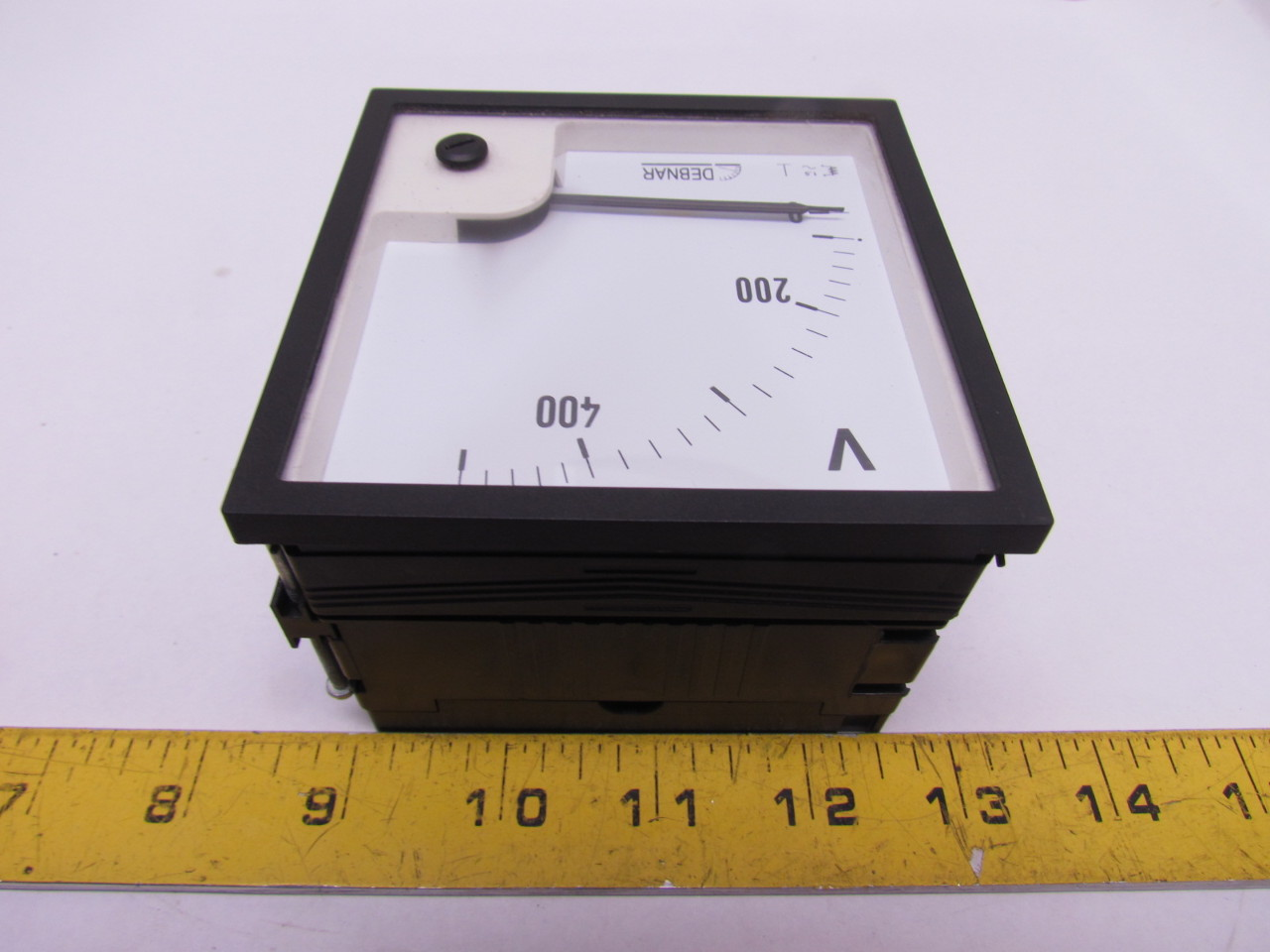 Volt Meters Panel Mount : Debnar v d de mm analog volt meter gauge
