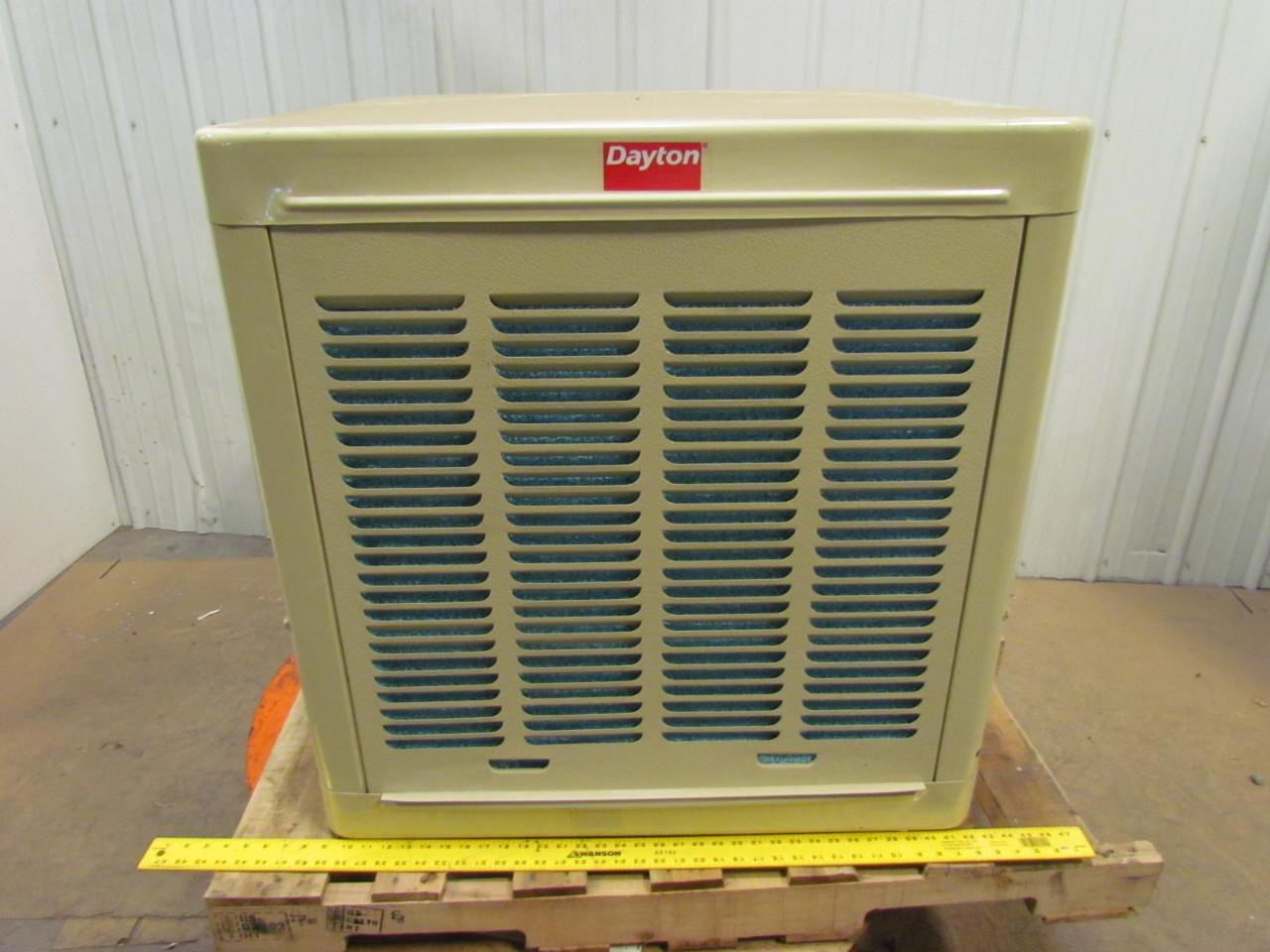 Dayton 4rnp1 Ducted Evaporative Cooler 1 2hp 4800cfm 8 5a