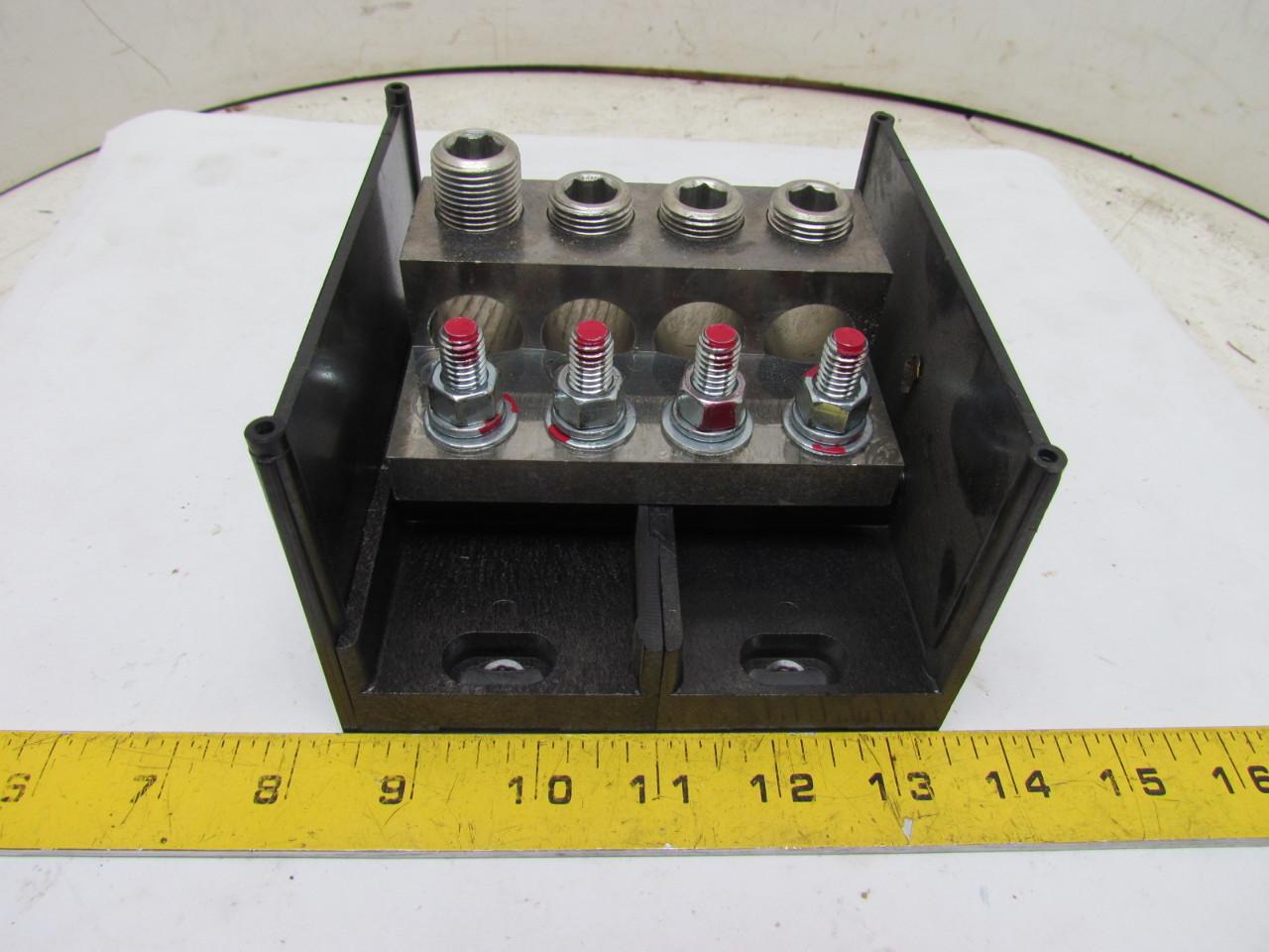 Power Block Wiring Free Diagram For You Distribution 900091 Terminal 4 Wire 600v Cu9al Lock Acs