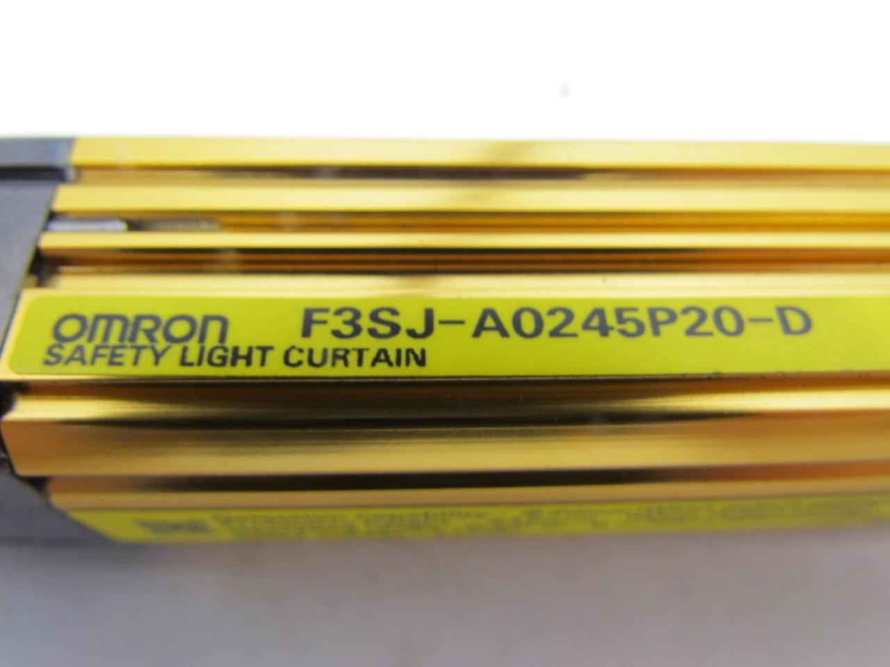 omron sti f3sj a0245p20 d safety light curtain receiver. Black Bedroom Furniture Sets. Home Design Ideas