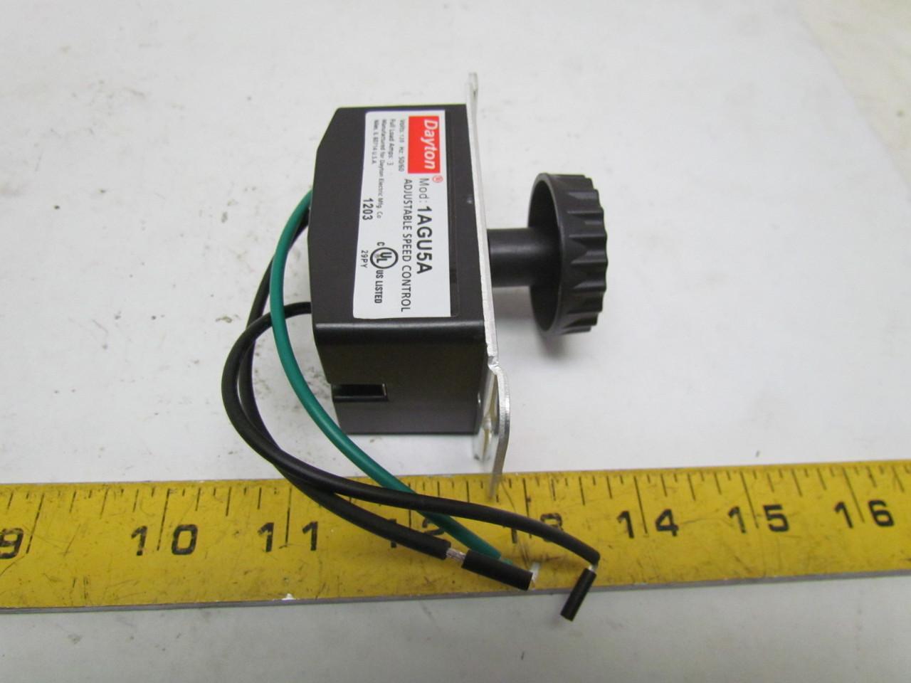 Ge 1agu5a Adjustable Speed Control 120v 3a New Ebay