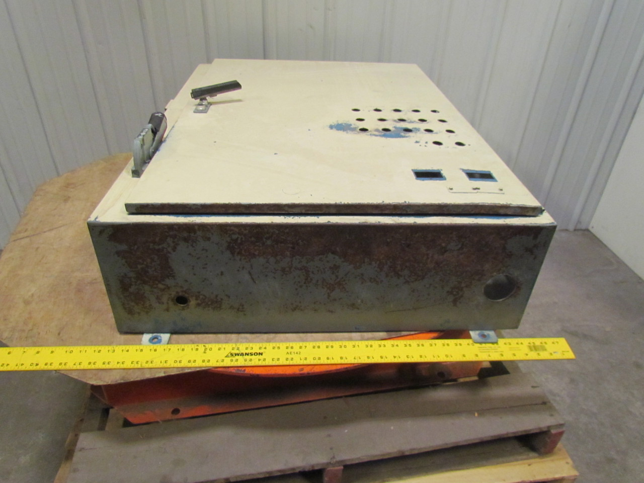 hoffman a-b 30a fusible disconnect switch electrical ... hoffman fuse box #12