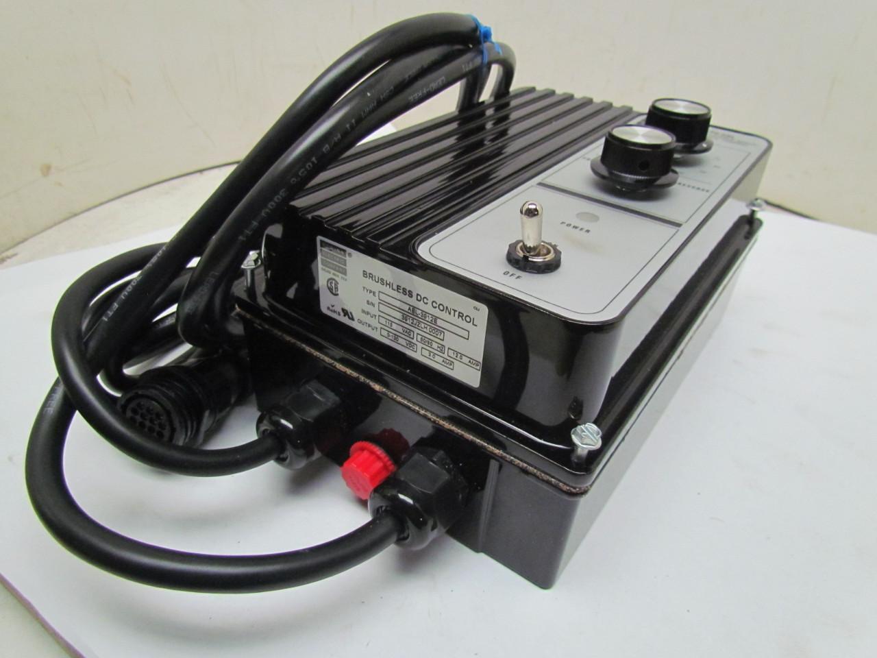Abl 3912e Filtered Scr Brushless Dc Motor Adjustable Speed