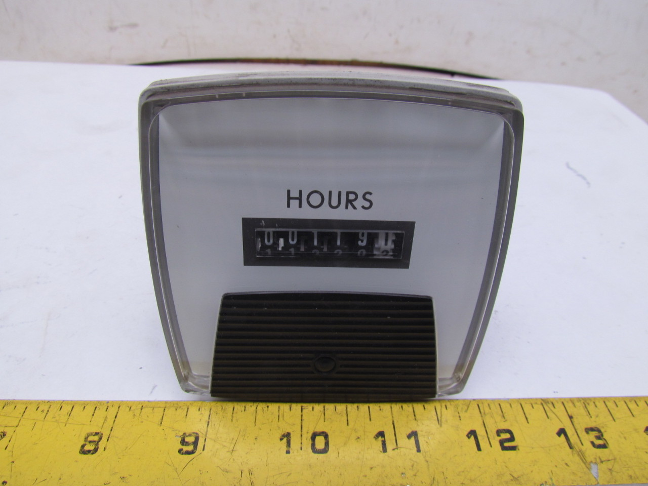 Hour Meters Panel : Aaab digit hour time meter v w panel mount