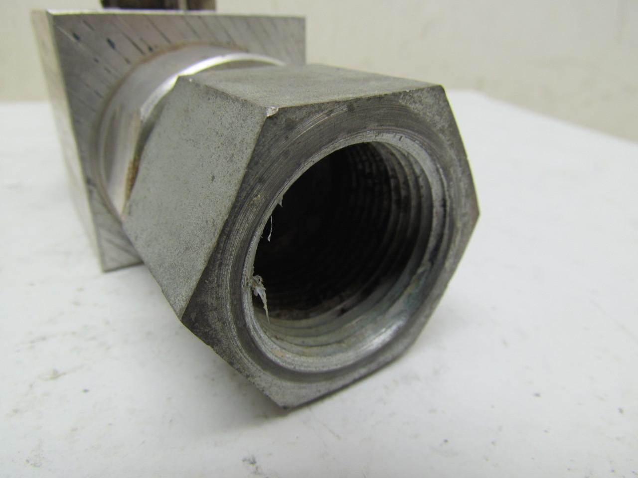 Dmic bval s quot aluminum ball valve full flow jic