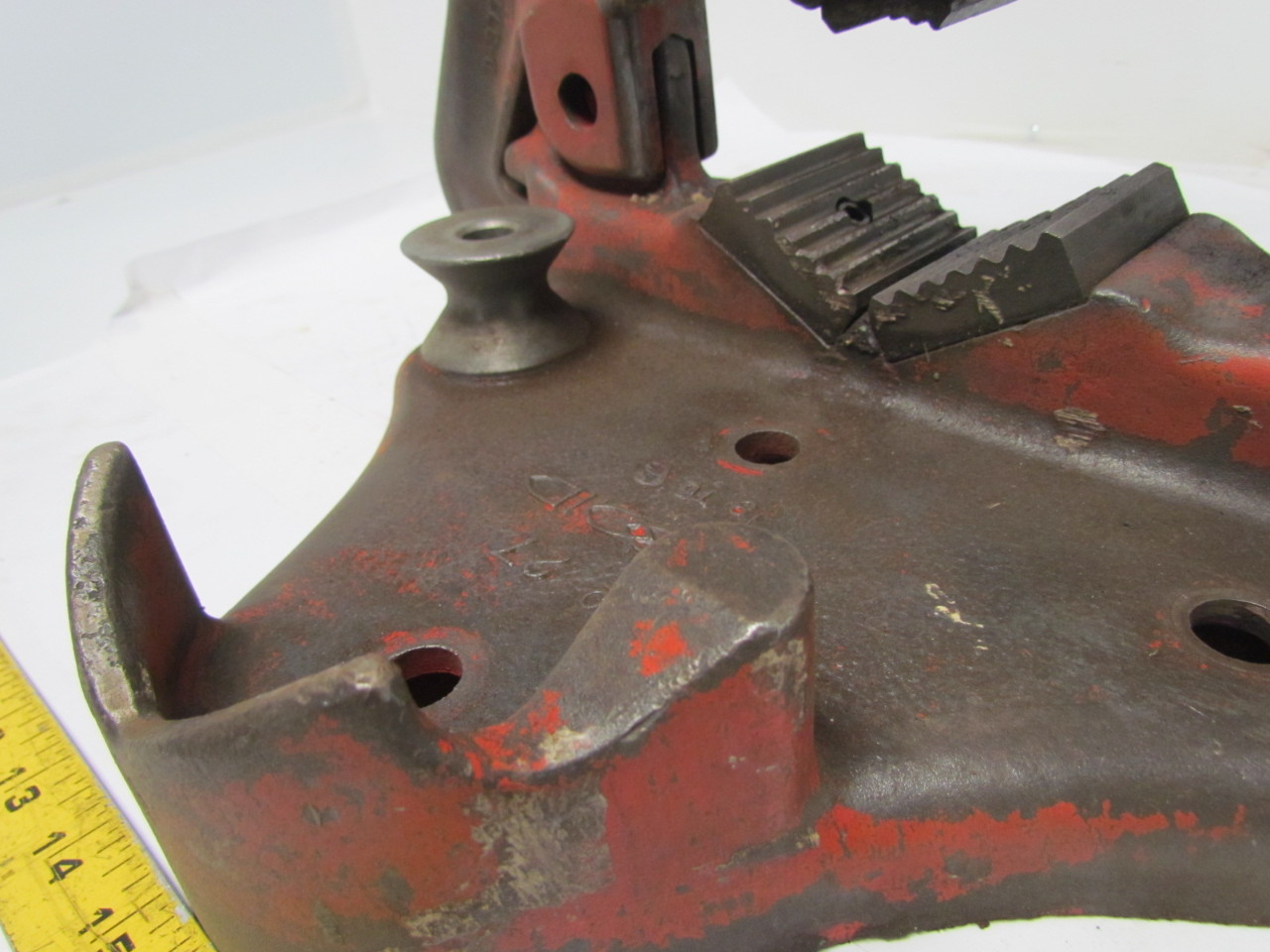 Ridgid No 27 Pipe Vise 1 8 Quot 6 Quot Bench Mount Yoke Vise Ebay