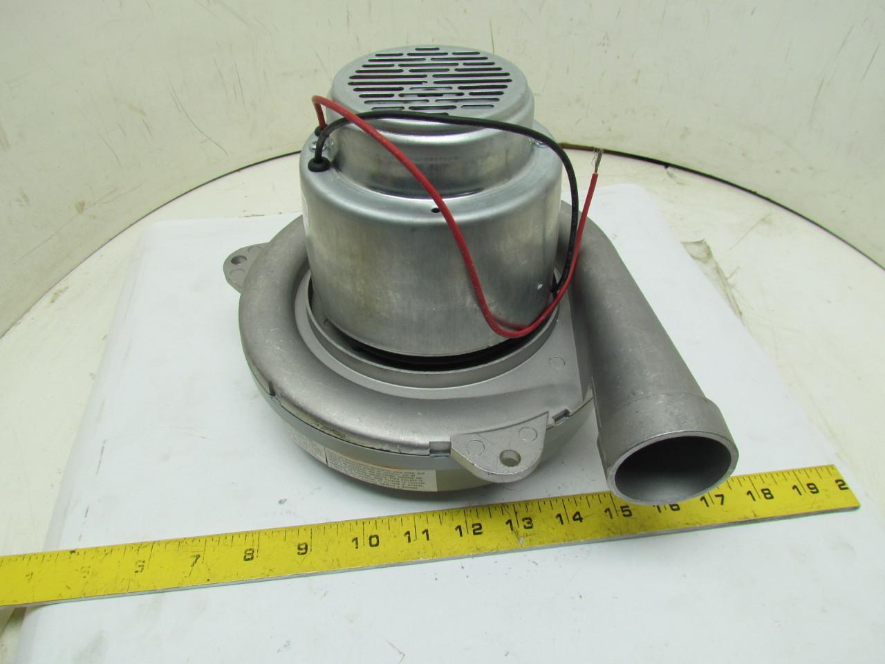 Ametek 122180 18 2 stage vacuum motor blower 1 speed for 2 stage vacuum motor