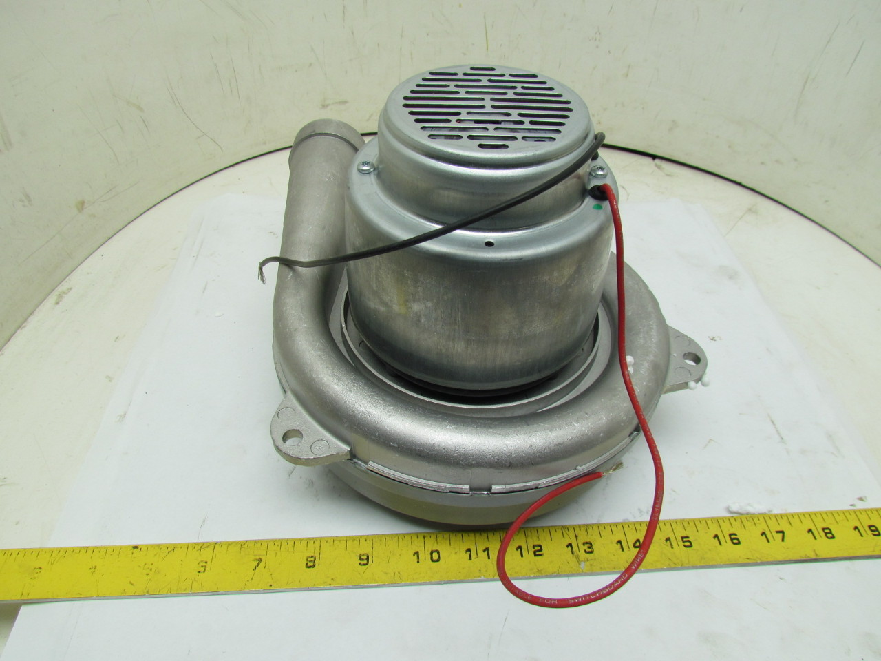 Ametek 122207 18 2 stage 1 speed vacuum motor blower for 2 stage vacuum motor