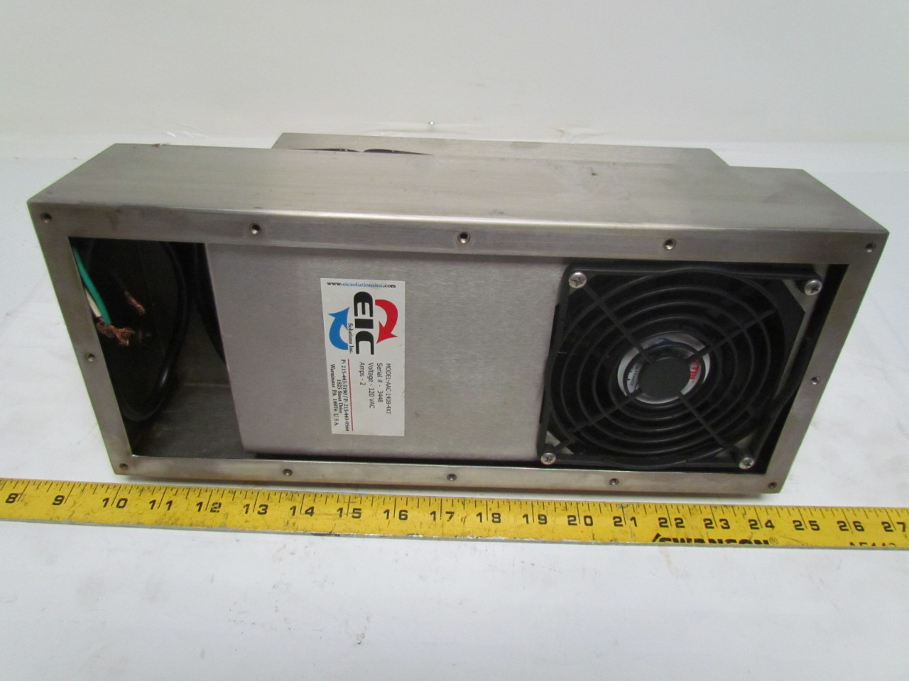 Eic solutions aac 140b 4xt thermoelectric air conditioner for 120v window air conditioner