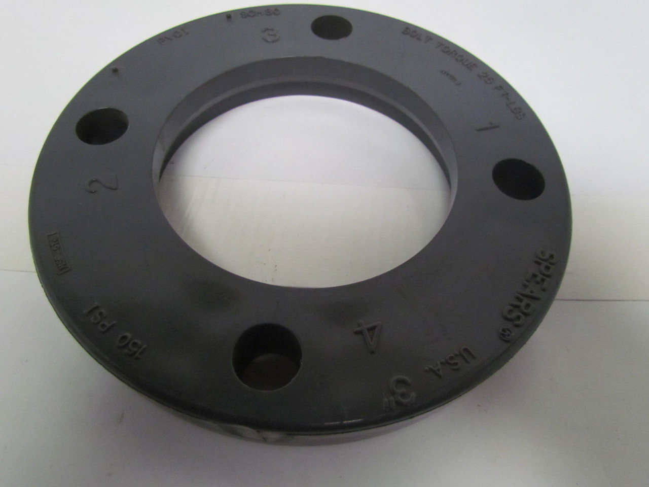 Spears quot schedule pvc bolt flange pipe fitting ebay