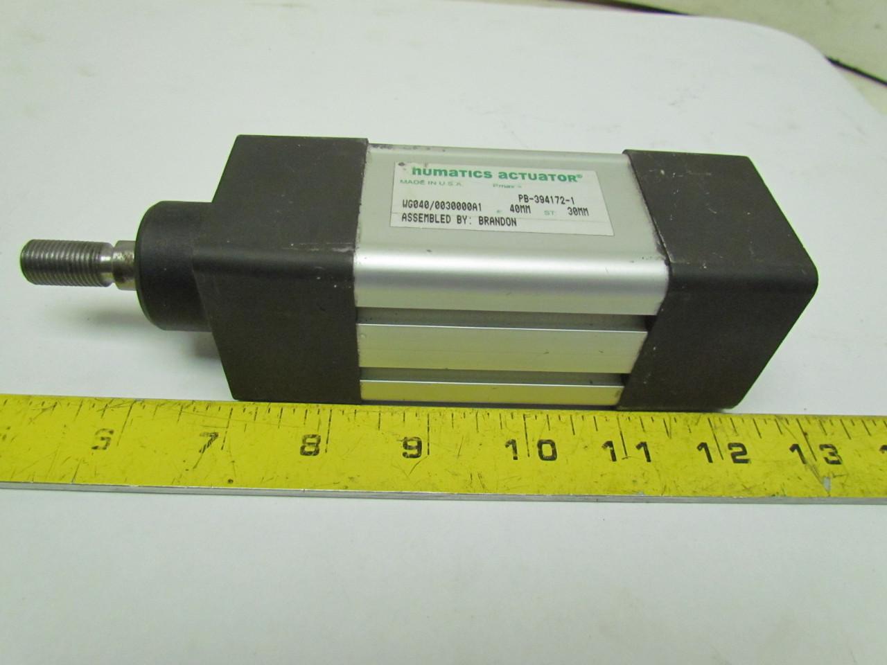 Numatics Actuator PB-394172-1 Pneumatic Air Cylinder 40mm ...