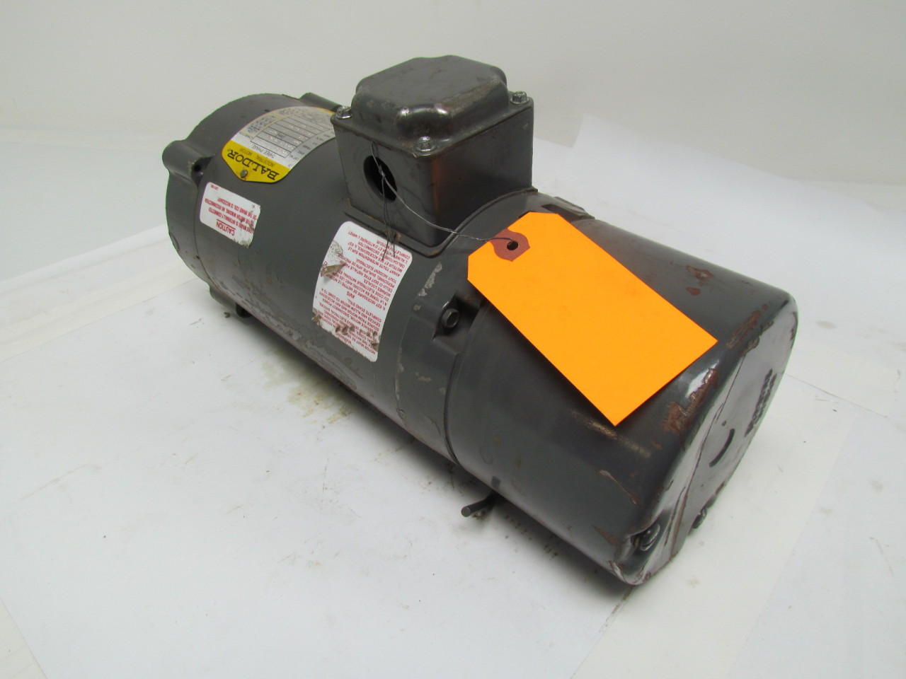 Baldor Vbm352 34k045 3820 C Brake Motor 3 4hp 3phase 208
