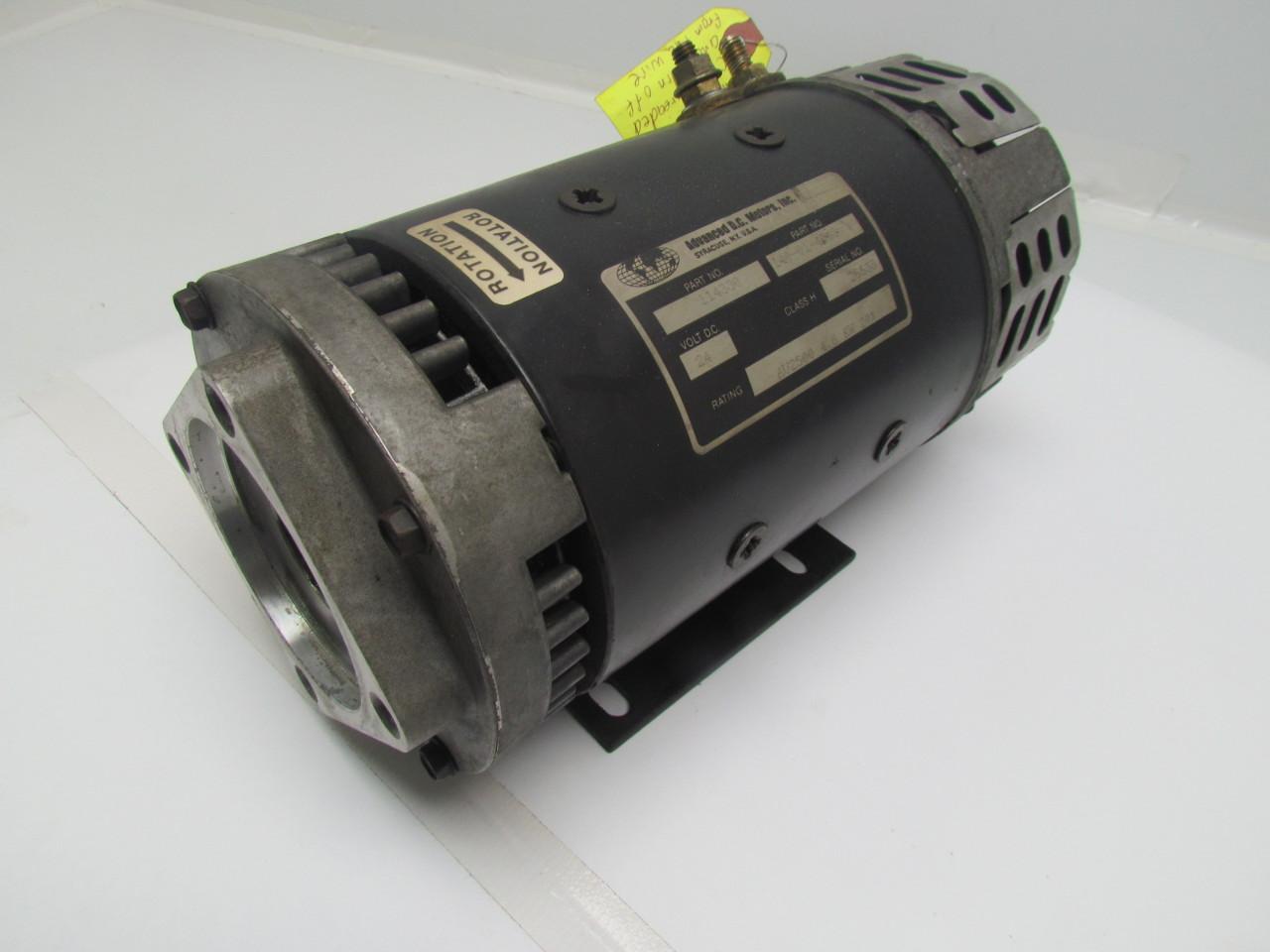 Advanced Dc 140 01 4003 Forklift Pump Motor 24vdc Au2500 4