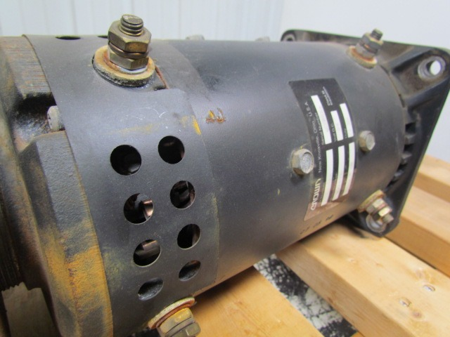 Crown W6ae01 020366 Forklift Drive Motor 24vdc W