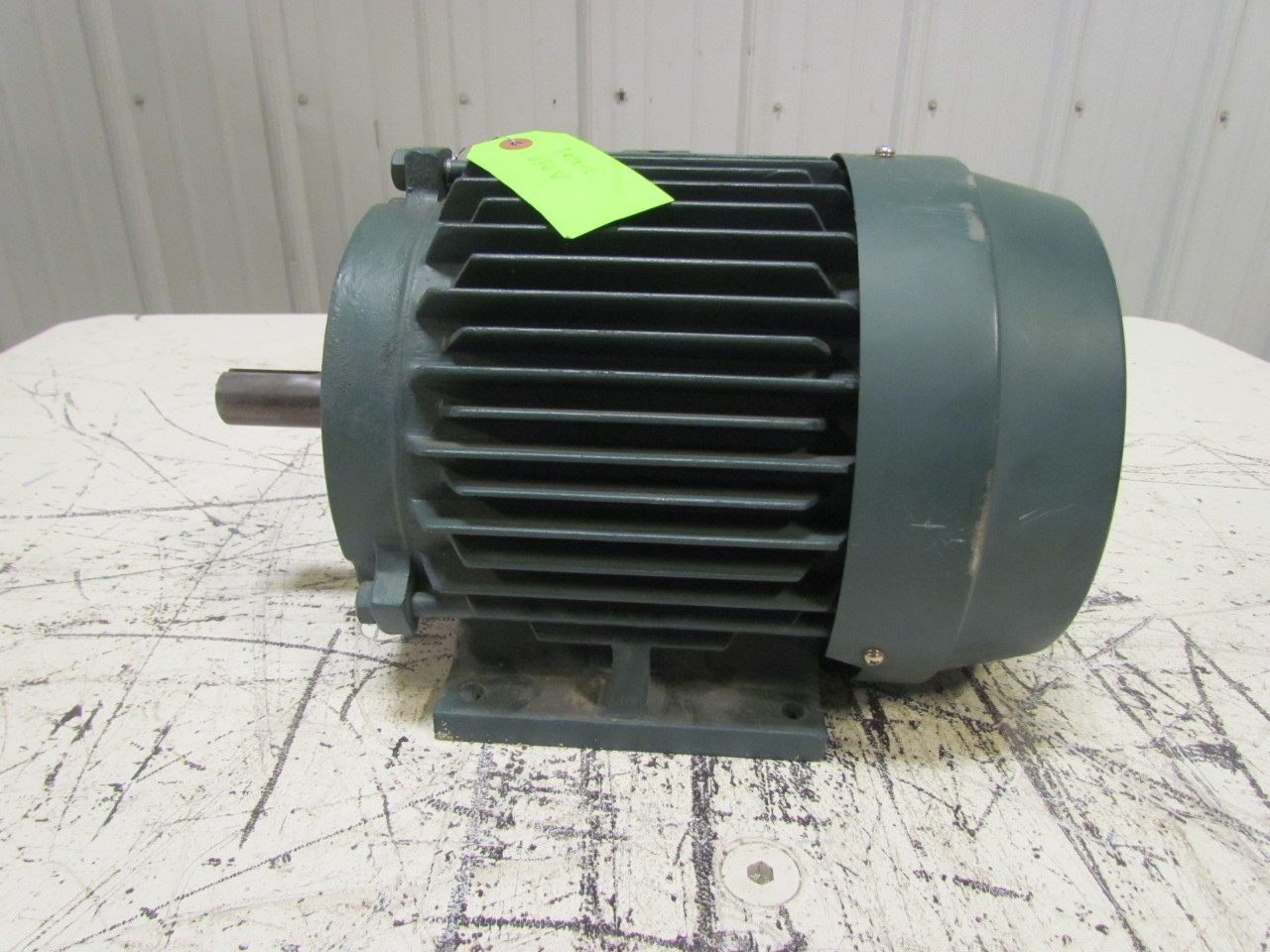 Reliance Electric P18g4901 Lg Calibre 3 Ph Motor 5hp 230