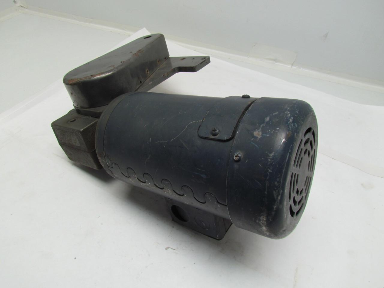 Leeson c42d28fc1a 130v dc convetor motor 1 4hp 2500rpm w Dorner motor