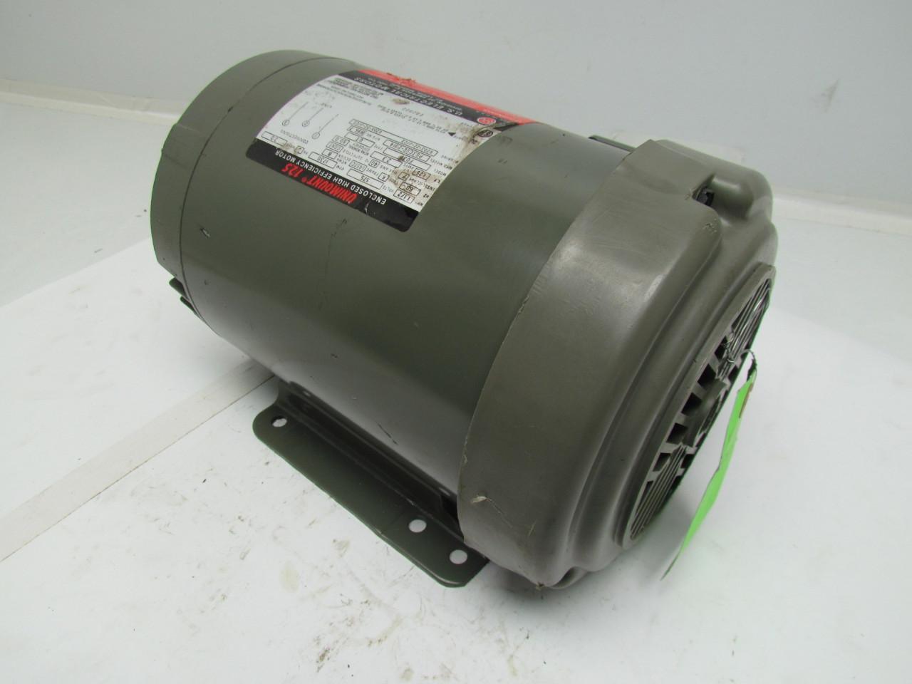 Us motors p63csg 2914 unimount 125 3 phase ac motor 1 5hp for Three phase ac motors