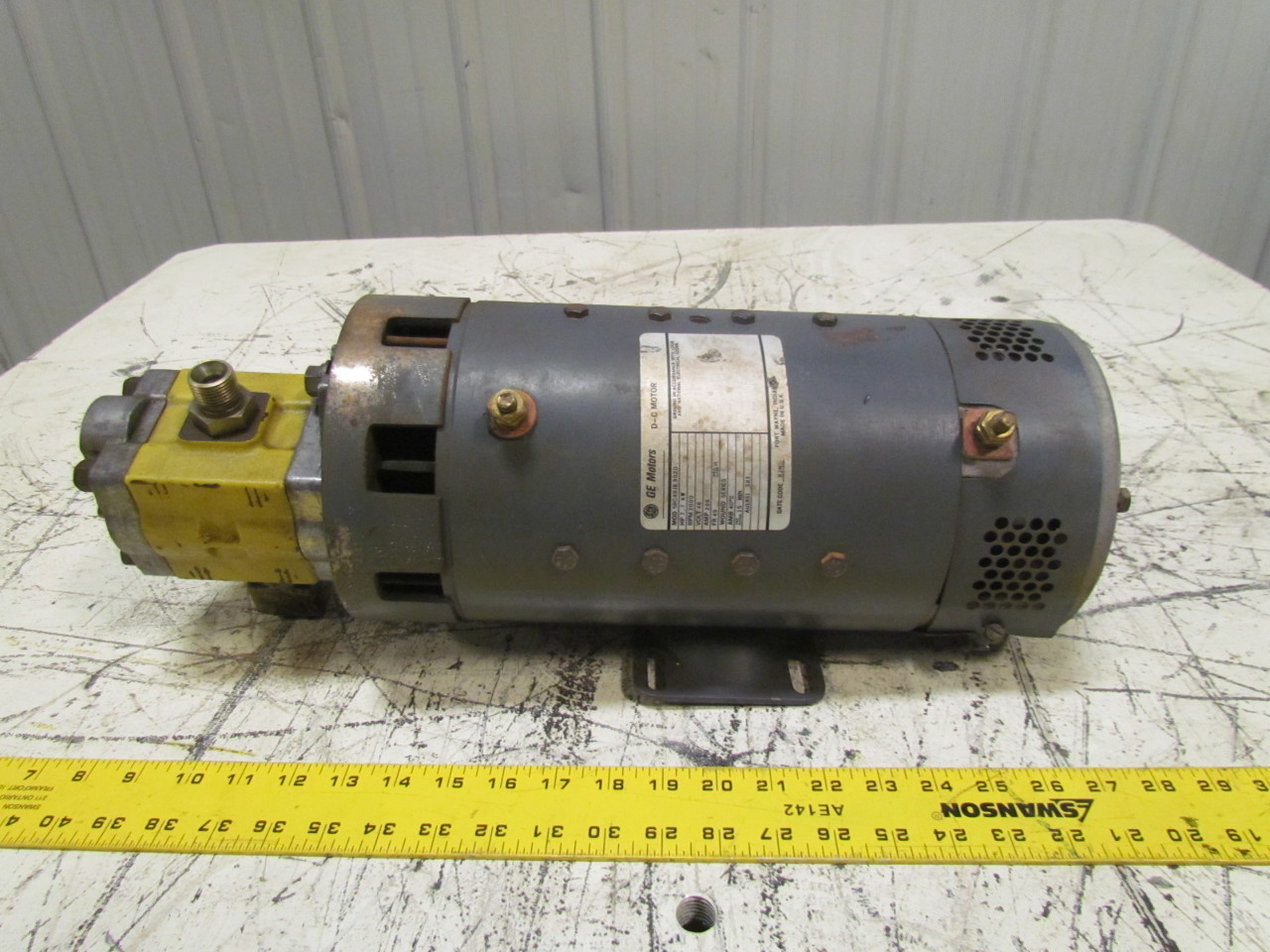 Ge 5bc49jb3020 electric forklift motor 48vdc 2000rpm 208a for Electric forklift motor for sale
