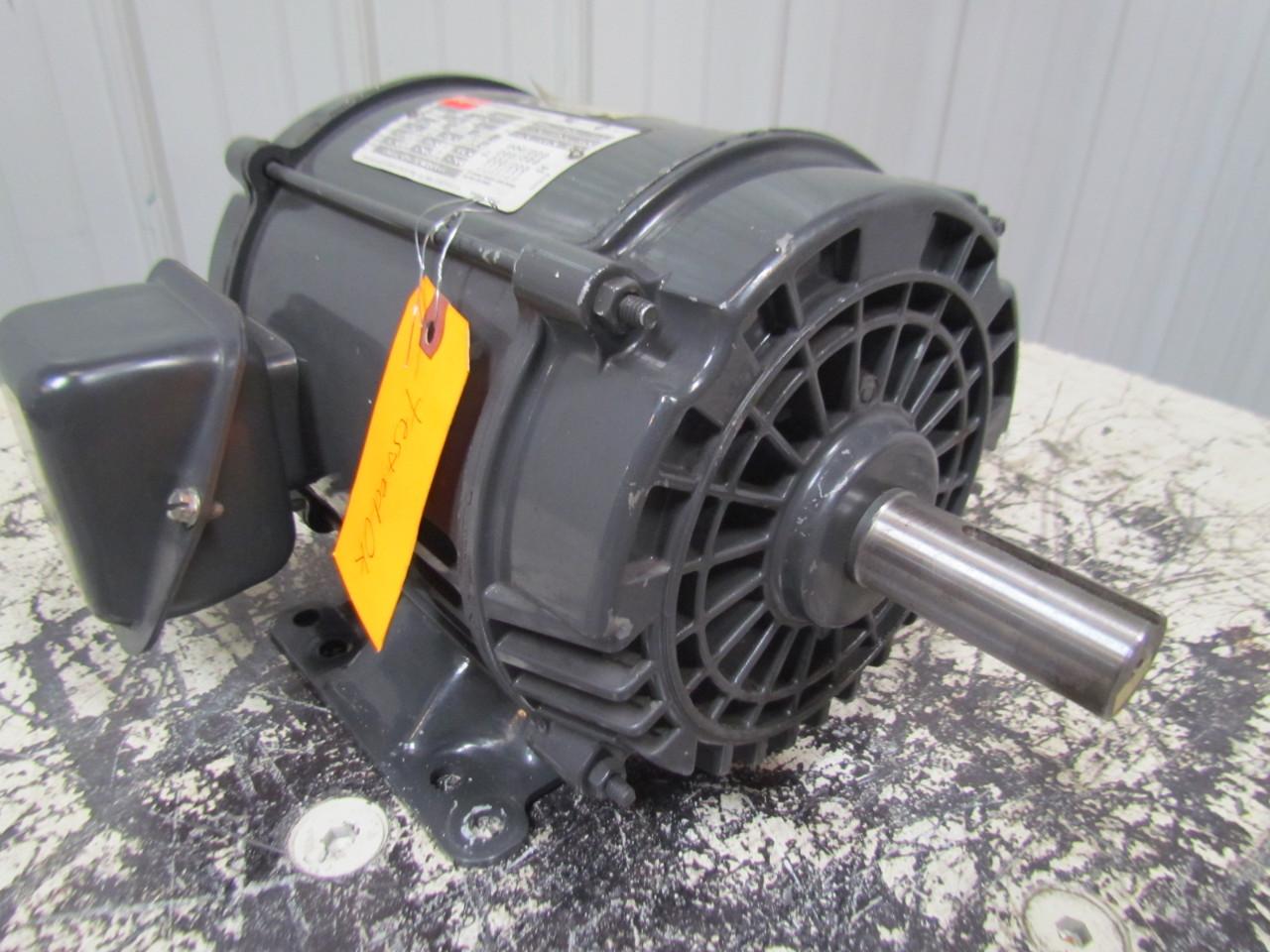 Dayton 3n669a 5hp Electric Motor 200 230 460v 3ph 182t