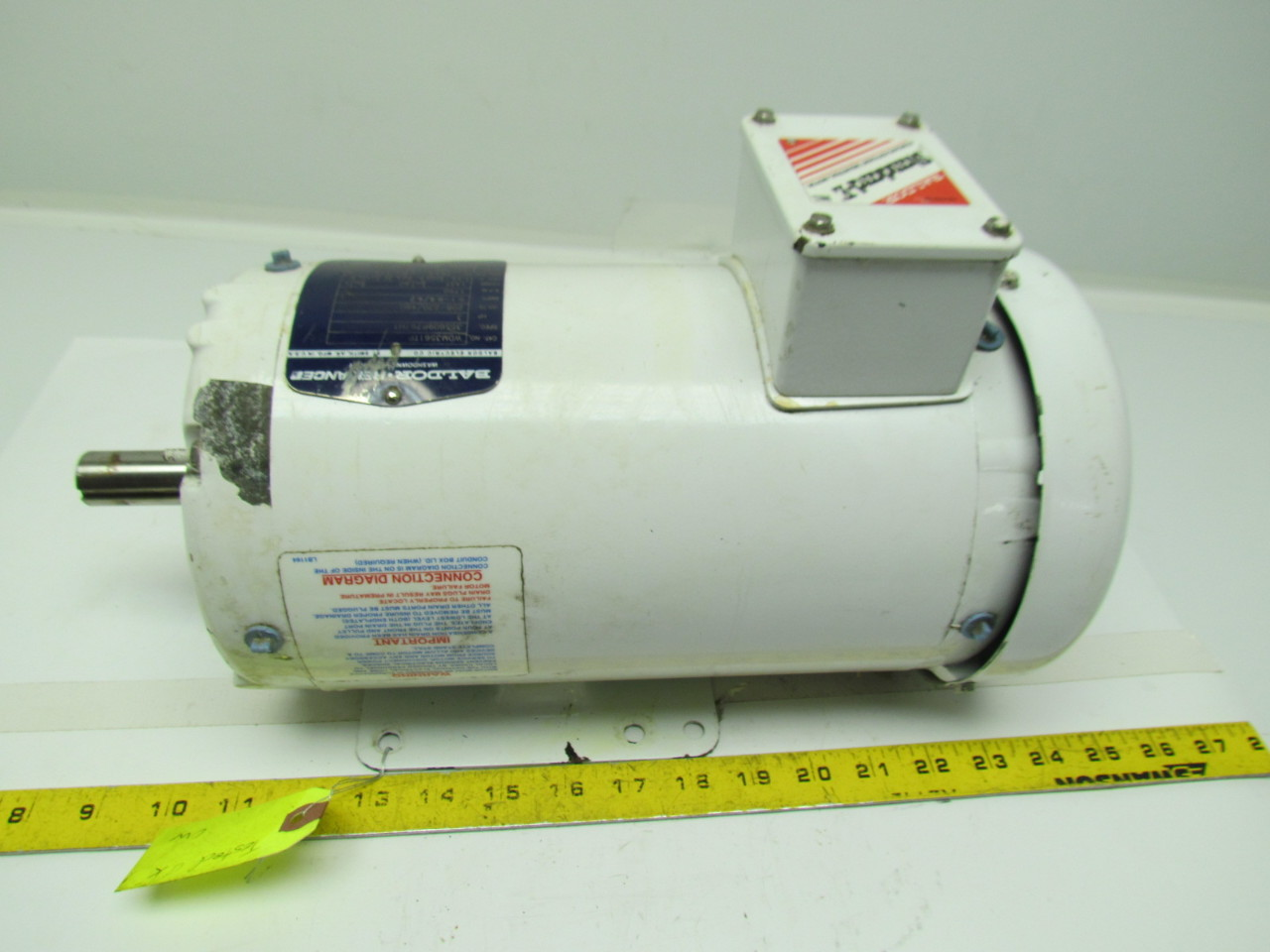 Baldor Wdm3561tp 3hp Washdown Electric Motor 1750rpm 208