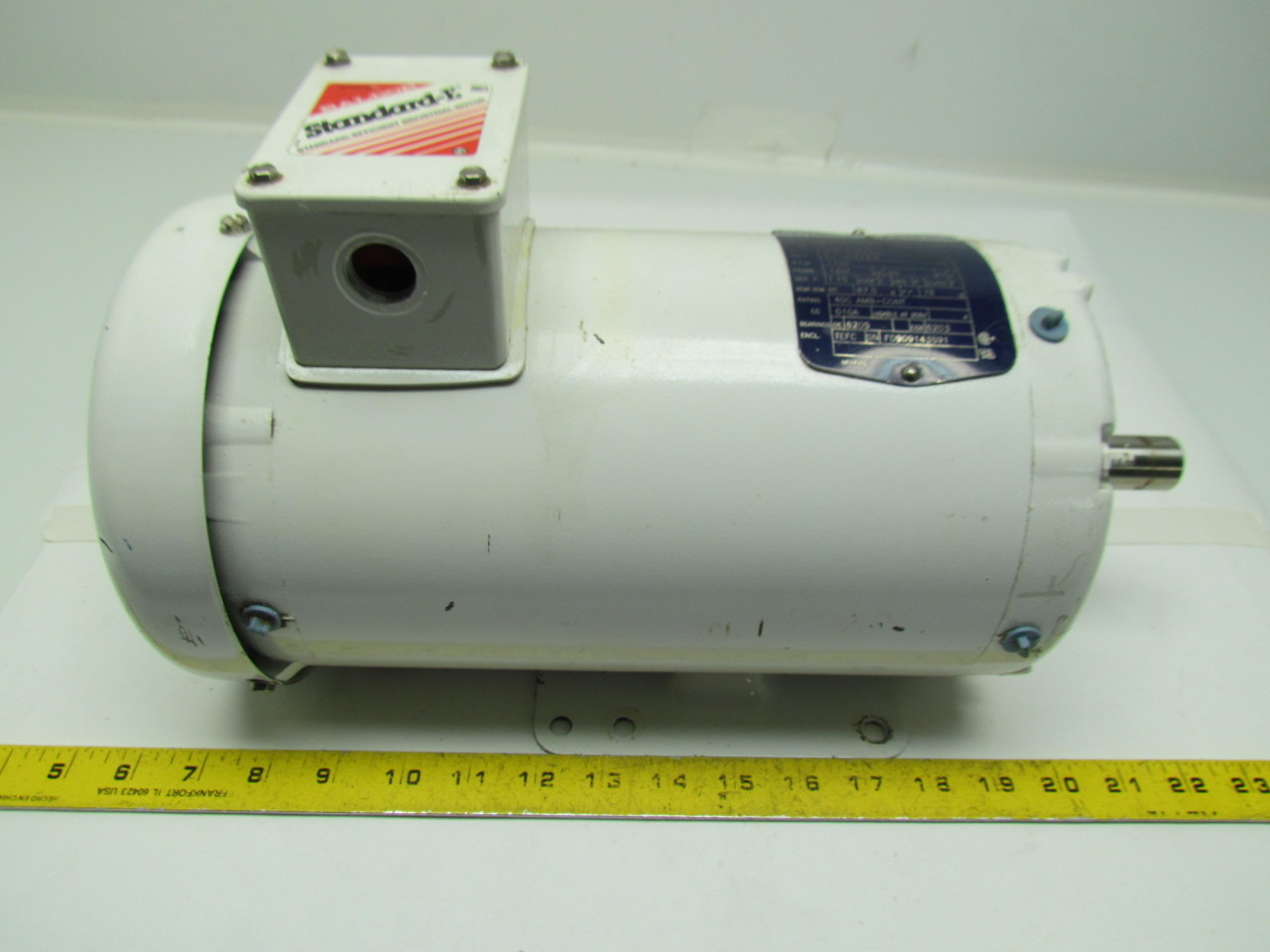 Baldor Wdm3561tp 3hp Washdown Electric Motor 1750rpm 208