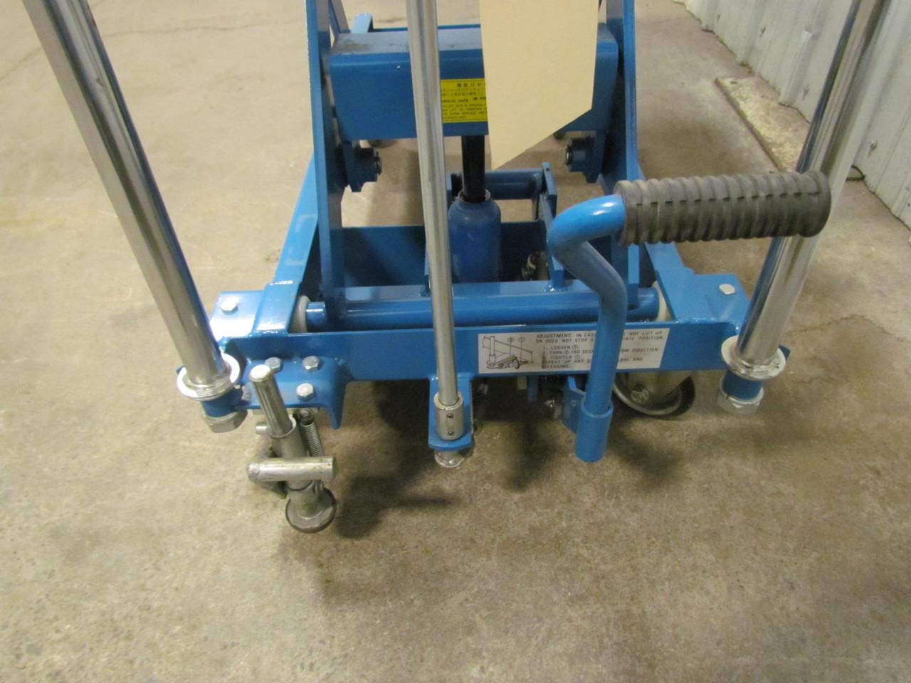 Hydraulic Scissor Lift Carts : Dandy lift l hydraulic scissor cart table lb