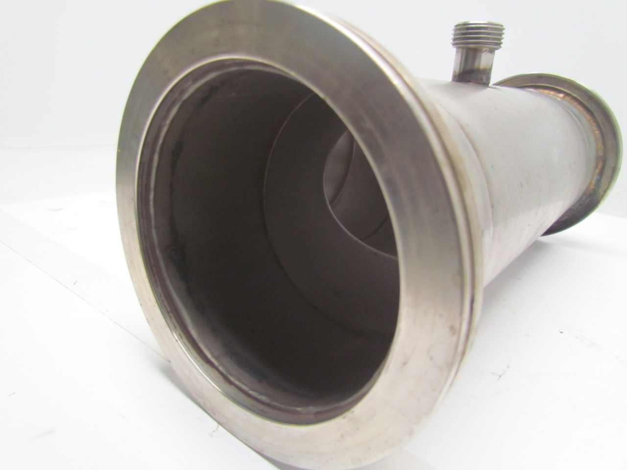 Quot clamp style sainless steel sanitary pipe fitting