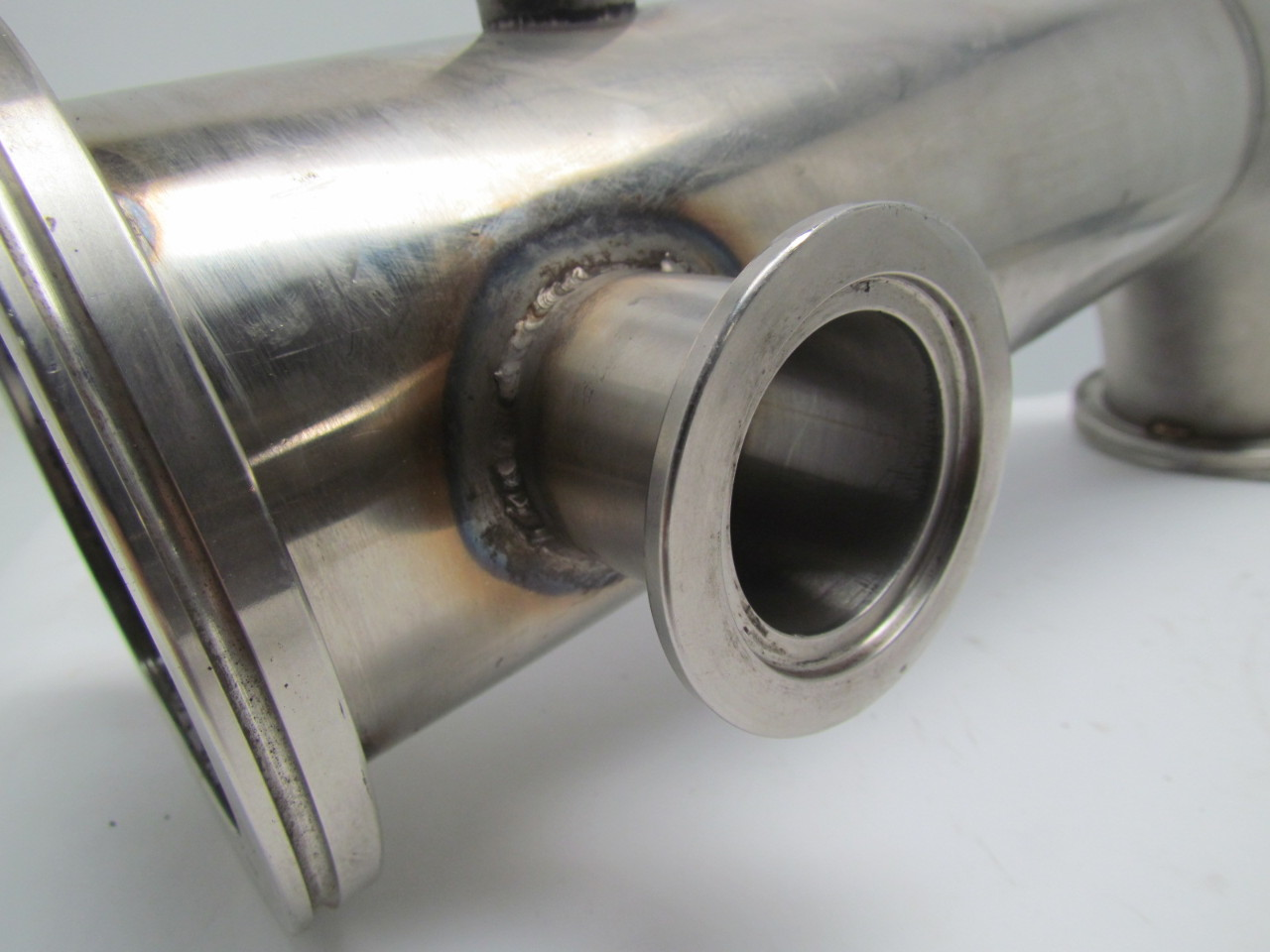 Quot deg clamp style stainless steel sanitary pipe