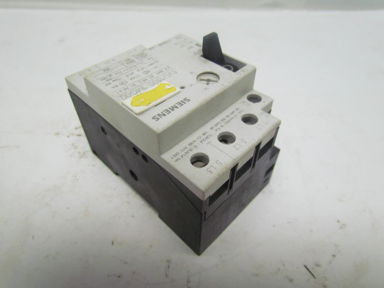 Siemens 3vu1300 1mg00 3vu1300 1m600 Motor Starter