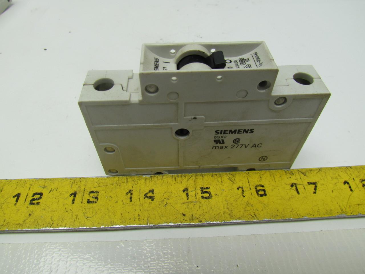 SIEMENS 5 SX21 C2 W// 5SX9100