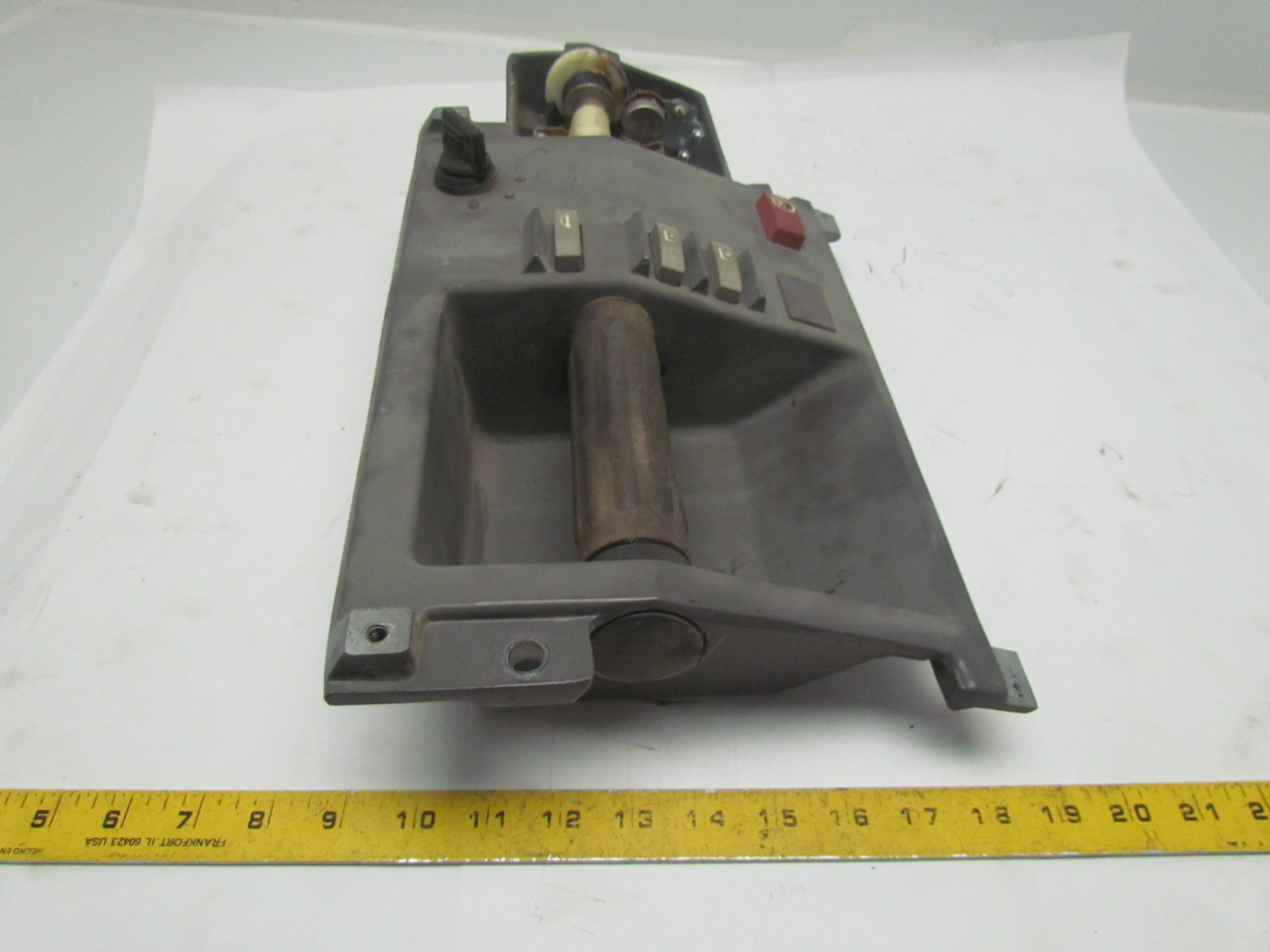 Fork Lift Forward And Reverse Levers : Crown forklift hand control forward reverse twist throttle
