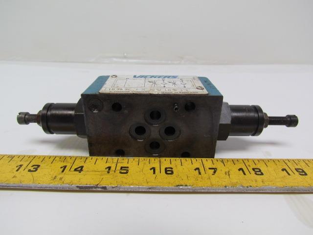 Vickers DGMFN-3-X-A2W-B2W-21 Hydraulic Flow Control Module