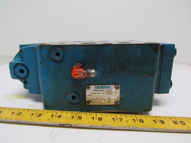 Vickers DGX-06-1F-60 Hydraulic Pressure Reducing Valve/Module 1000 PSI Max