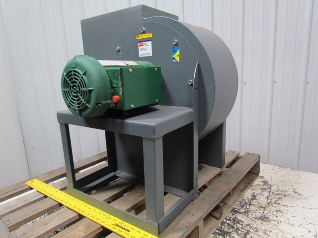 Radial Blade Blowers : Dayton c a hp direct drive radial blade blower fan